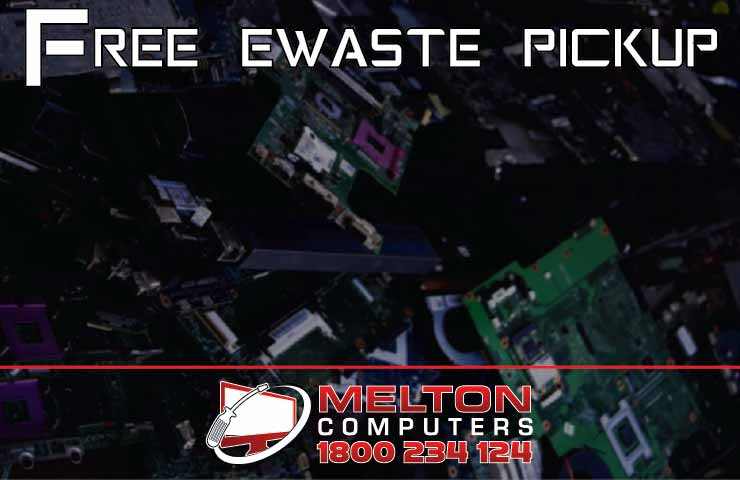 Free e-waste pickup for Melton & Bacchus Marsh.
